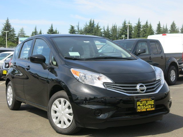 new 2016 nissan versa note sv hatchback in roseville n40847 future nissan of roseville. Black Bedroom Furniture Sets. Home Design Ideas