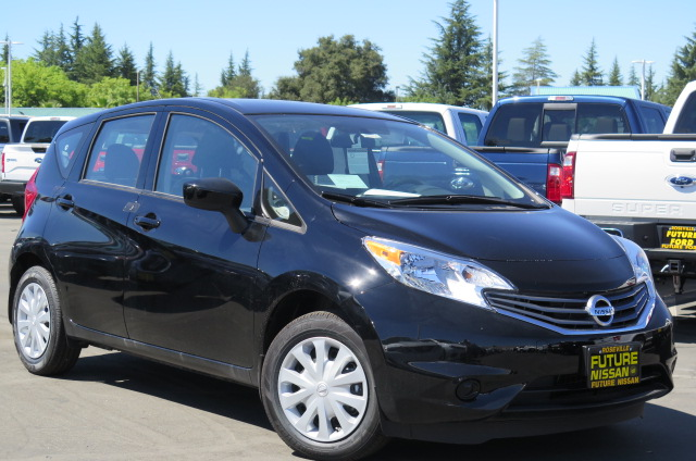 new 2016 nissan versa note s plus hatchback in roseville n41664 future nissan of roseville. Black Bedroom Furniture Sets. Home Design Ideas