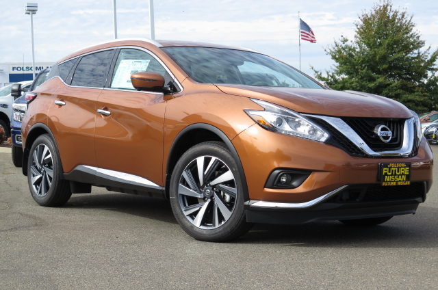 new 2016 nissan murano platinum suv in roseville f10602 future nissan of roseville. Black Bedroom Furniture Sets. Home Design Ideas