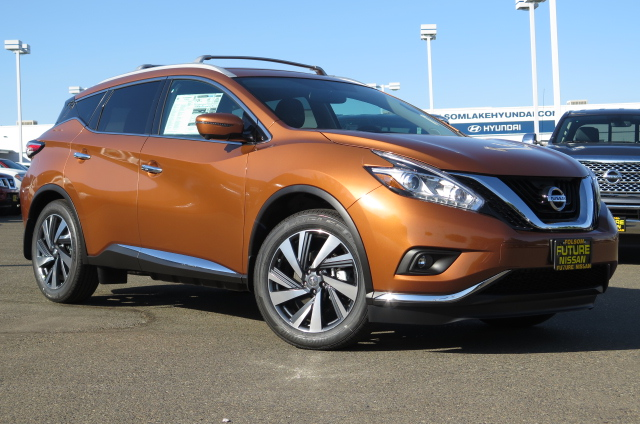 new 2016 nissan murano platinum suv in roseville f10587 future nissan of roseville. Black Bedroom Furniture Sets. Home Design Ideas